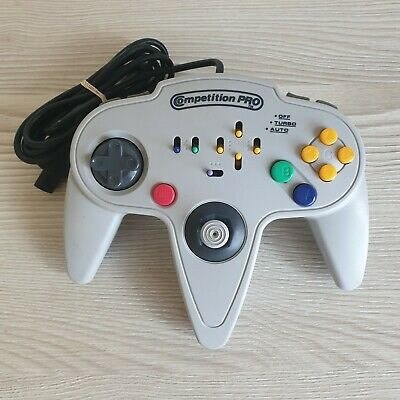 $ CDN1.71 • Buy Competition Pro Controller N64. Retro Game Controller. Grey - Untested