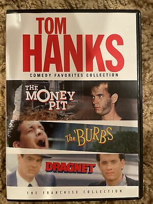 £5.74 • Buy The Tom Hanks Comedy Favorites Collection Money Pit / The Burbs / Dragnet 2 DVD