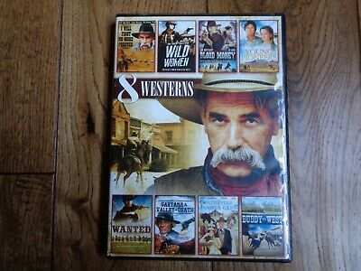 £14.99 • Buy 8 Westerns DVD Spaghetti/traditional Westerns Buddy Goes West Blood Money Wanted