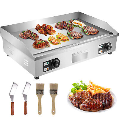 £173.27 • Buy Commercial Electric Griddle Countertop Flat Top Hotplate BBQ Stainless Steel 30