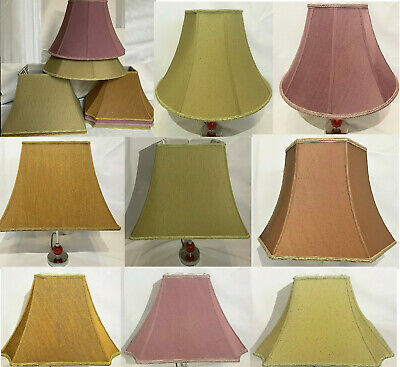 £20.99 • Buy Traditional Cotton Textured Fabric Braided Table Floor Lampshade / Cooile Shade