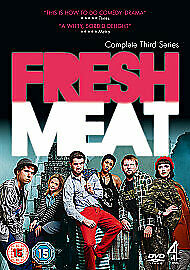 £6.50 • Buy Fresh Meat - Series 3 - Complete DVD NEW SEALED