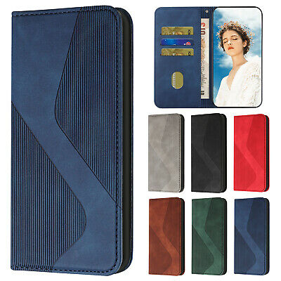 AU9.89 • Buy For IPhone 12 Pro Max 11 XS XR 8 7 Plus Wallet Magnetic Flip Leather Case Cover