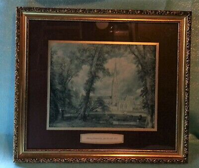 £4.90 • Buy Collectable Framed Print Salisbury Cathedral By John Constable R A