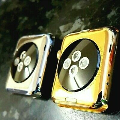 $ CDN138.47 • Buy 24k Gold Plating Service For Apple Watch Series 1 2 3 4 5 6 GPS Cellular 24ct