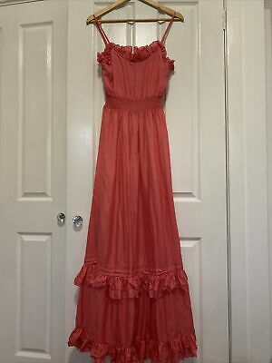 AU65 • Buy Forever New Silk Maxi Dress Size 10