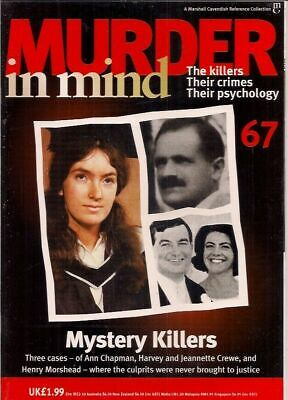 £4.99 • Buy Murder In Mind- Issue 67- Mystery Killers- Crime, Psychology