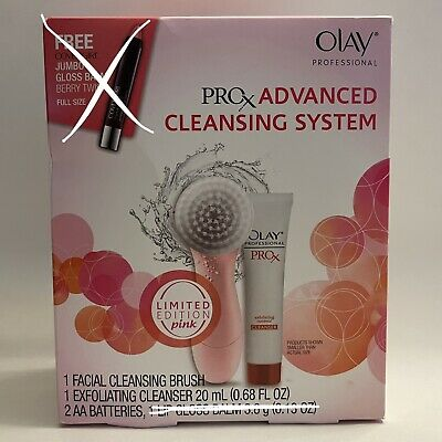 AU66.75 • Buy ProX By Olay Dermatological Advanced Cleansing System 1 Facial Brush & Cleanser
