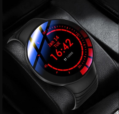 AU55.99 • Buy Smart Watch Phone Call ECG Heart Rate Blood Pressure Monitor Pedometer-Promotion