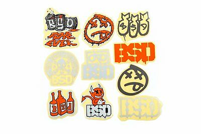 £7.95 • Buy BSD BMX Sticker Pack - 10 Stickers Bike Bicycle New Bmxing Cycle Official BSD