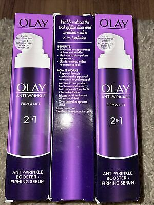£9 • Buy Olay Anti-Wrinkle 2 In 1 Day Cream And Serum - 50ml