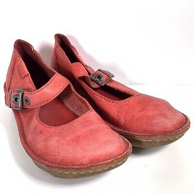 £19.99 • Buy Clarks Red Leather Funny Toy Shoes Sandals UK 6 D