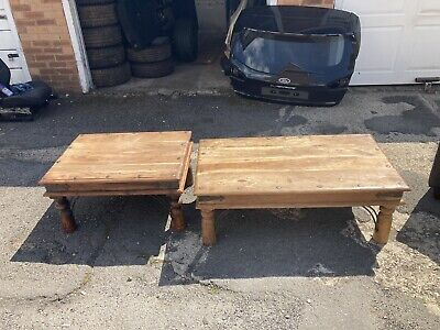 £60 • Buy Two Coffee Tables, A Real Tree, Very Good Condition