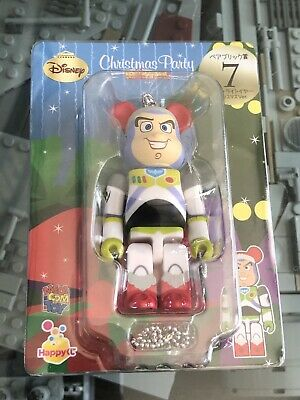 $54.99 • Buy RARE Toy Story Buzz Lightyear 100% Bearbrick Figure Authentic US Seller