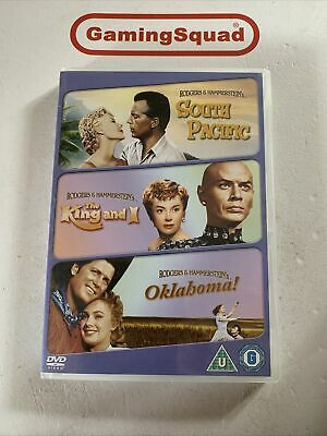 £2.95 • Buy South Pacific, The King And I, Oklahoma DVD, Supplied By Gaming Squad