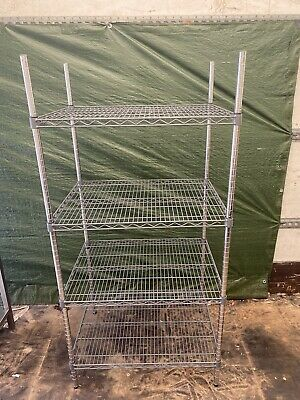£140 • Buy Commercial Cold Room Racking. Catering Racking With Adjustable Height Shelves.