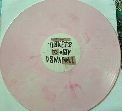$34.95 • Buy Machine Gun Kelly - Tickets To My Downfall Pink Color Vinyl LP *In Hand*