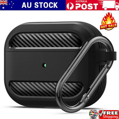 AU11.99 • Buy Heavy Duty Armor Cover Case + Keychain For Apple AirPods 1/2 & Pro Shockproof
