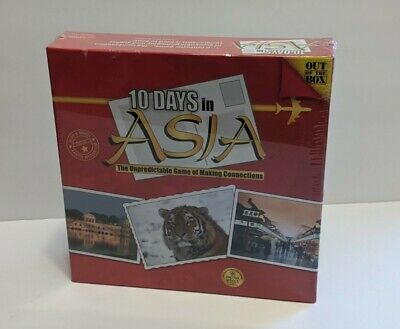 £71.26 • Buy 10 Days In Asia, Out Of The Box Board Game, New Factory Sealed