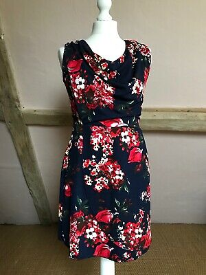 £8 • Buy Wal G Floral Dress Size Small With Waist Tie