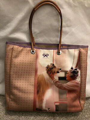 £89 • Buy Anya Hindmarch Dog Print Tote Bag, Beige/Neutral, Used Very Good Condition