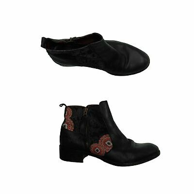 £25.20 • Buy Desigual Women's Boots 7 Black, Blend - Other