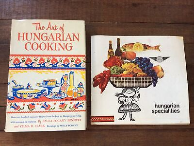 £17.89 • Buy Vintage 1954 'The Art Of HUNGARIAN COOKING' RECIPES & ISUSZ Hungary Specialties