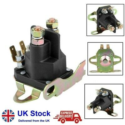 £8.46 • Buy 12V 4-pole Starter Solenoid Relay Motor For BRIGGS STRATTON Motorboat Lawn Mower