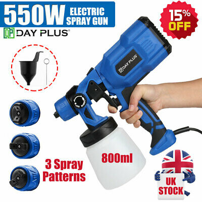 £33.23 • Buy 2021 Paint Sprayer Spray Gun Airless Electric 550W Home Outdoor Wall Fence Car