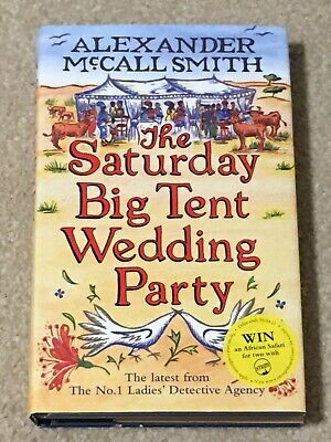 AU11 • Buy The Saturday Big Tent Wedding Party Hardcover Book By Alexander McCall Smith