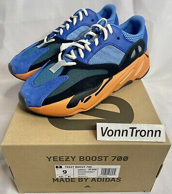 $ CDN398.30 • Buy Adidas Yeezy Boost 700 Bright Blue GZ0541 Men's - SIZE 9 US - IN HAND SHIPS NOW