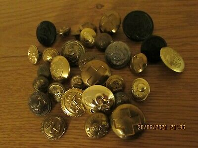 £15 • Buy Collection Of British Military Tunic Buttons