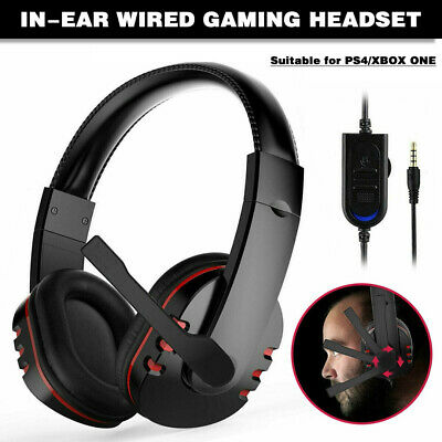 AU16.19 • Buy AU Durable Stereo Gaming Headset Headphone Wired With Mic For PC Xbox One PS4