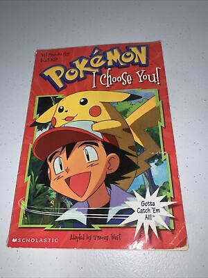 $4 • Buy I Choose You! (Pokemon Chapter Books) By Scholastic Books