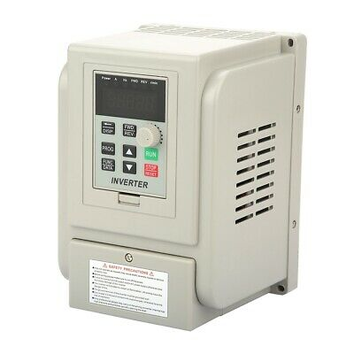 £64.99 • Buy 2.2KW Single To 3 Phase VFD Variable Frequency Drive Inverter Speed Converter
