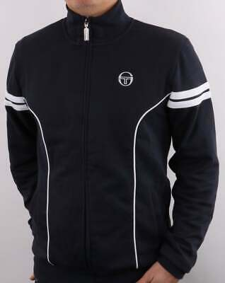 £55 • Buy Sergio Tacchini Fjord Track Top In Navy - Retro Tracksuit Jacket, 80s Casuals