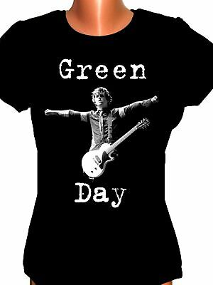 £18.06 • Buy Green Day,Billie Joe Armstrong,ladie's T-shirt,lady Fit,NEW,Fruit Of The Loom