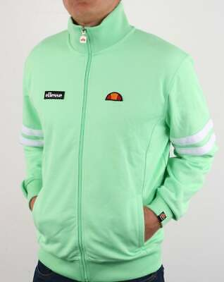 £49.95 • Buy Ellesse Roma Track Top In Pastel Green - Retro Tracksuit Jacket, 80s 90s Casual