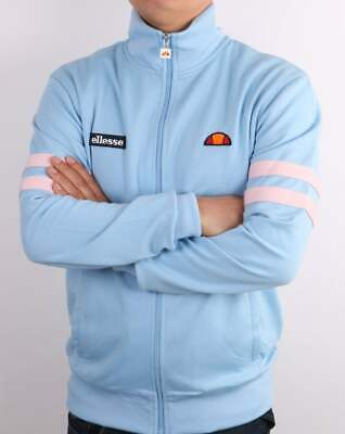 £55 • Buy Ellesse Roma Track Top In Sky Blue & Pink - Tracksuit Jacket, 80s 90s Casual