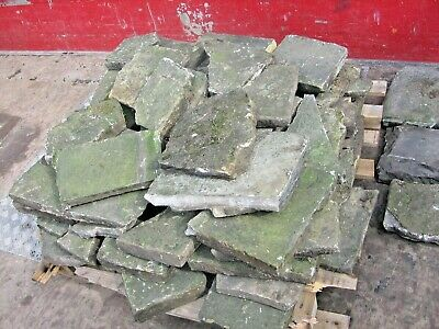 £495 • Buy Old York Stone Crazy Paving & Flag Stones Approx 15 Sq Yd Total , 12+3 Job Lot