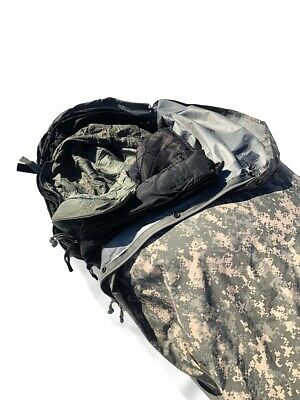 $120 • Buy Military Issued Bivy Cover ACU Water And Windproof Gore-tex Sleep System Cover