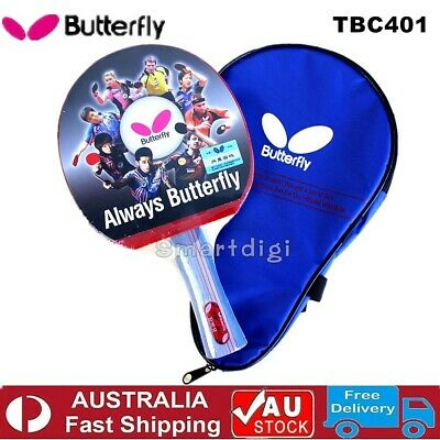AU44.75 • Buy Butterfly 4 Star 401 Table Tennis Ping Pong Racket Paddle Bat Long/Shakehand FL