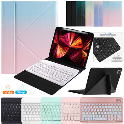 AU45.99 • Buy For IPad 7/8th 10.2 Air 3 10.5 Bluetooth Keyboard Case Cover With Pencil Holder