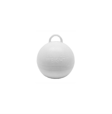 £5.49 • Buy White Bubble Balloon Weights - Pack Of 5