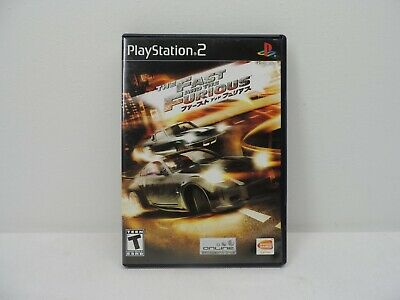 £10.78 • Buy The Fast And The Furious Complete Playstation 2 Game Working PS2
