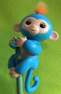 AU12.95 • Buy Blue Monkey FINGERLING - Very Good Working Condition - WowWee Kids Toy.