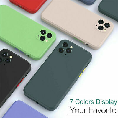 AU5.99 • Buy For IPhone 12/11/Mini/Pro/Max Shockproof Silicone Case Bumper Heavy Duty Cover