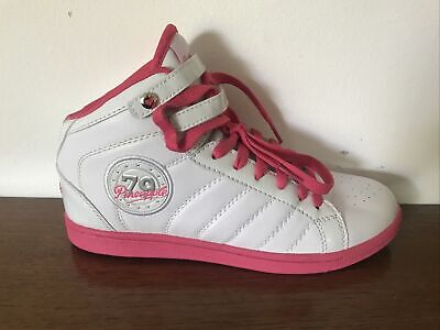 £11 • Buy Pineapple White Pink High Top Dance Trainers Size 5 Womens