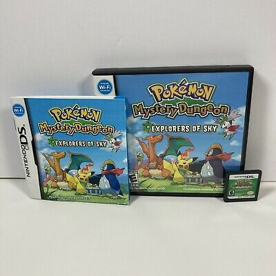 $149.99 • Buy Pokemon Mystery Dungeon  Explorers Of Sky Complete AUTHENTIC & TESTED WORKS