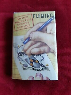 £18.99 • Buy On Her Majesty's Secret Service By Ian Fleming. Book Club First, Facsimile Dw.